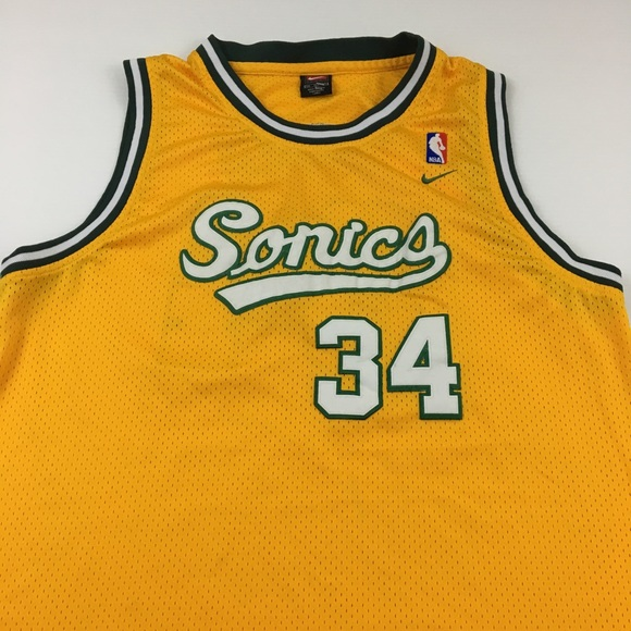 huge discount 74515 d08e3 Vintage Ray Allen Seattle SuperSonics Swingman XXL